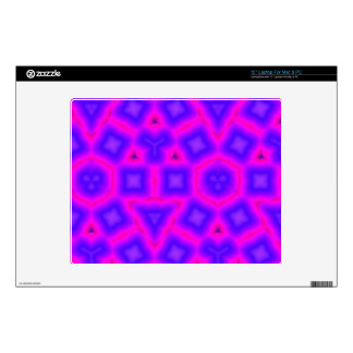 Pink and blue Trendy pattern Laptop Skins