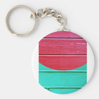 PINK AND BLUE - WOWCOCO KEYCHAIN