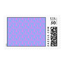 Pink and Blue Zebra Print Stamps