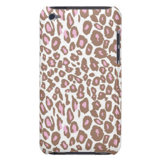 Pink and Brown Leopard Print iPod Touch Cover