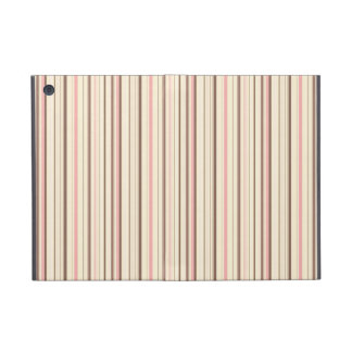 Pink and Brown Stripe Pattern Cases For iPad Mini
