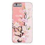 Pink and Coral Blossom Branch iPhone 6 Case