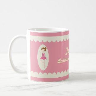 Pink and Cream Ballerina Superstar Mug