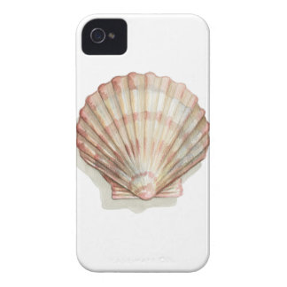 Pink and Cream Seashell Case-Mate iPhone 4 Case