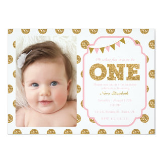 1st Birthday Invitations | Zazzle