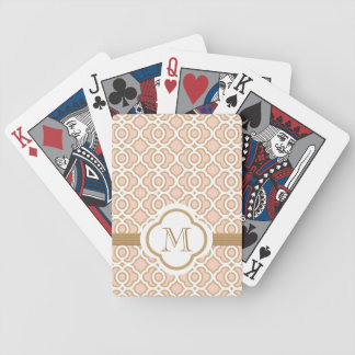 Pink and Gold Bicycle Card Deck