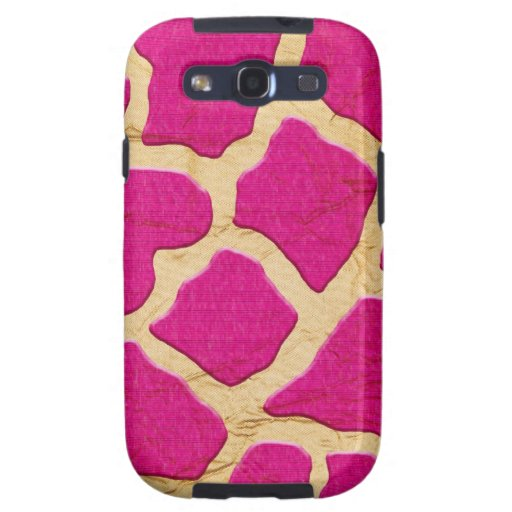 Pink and Gold Giraffe Samsung Galaxy S3 Cases
