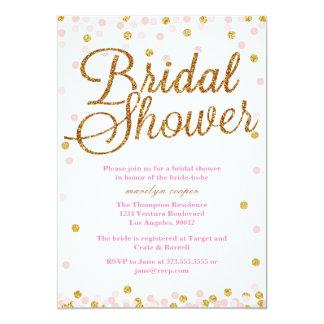 Pink Bridal Shower Invitations Announcements Zazzle