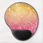 "pink and gold glitter look gel mouse pad<br><div class=""desc"">Check out www.zazzle.com/Sweetbriar_Drive for so many other beautiful styles,  items &amp; colors! &#169; SweetbriarDrive 2014. Do not copy.</div>"