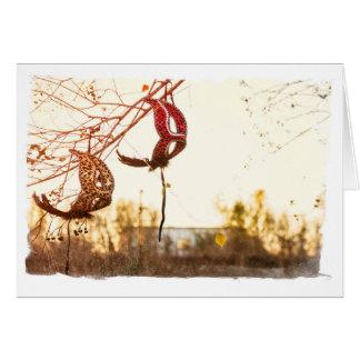 pink and gold leopard print maschera blank card