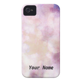 Pink and Gold Phone Cover