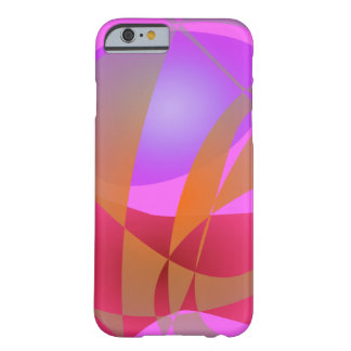 Pink and Gray Barely There iPhone 6 Case