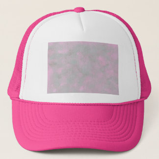 Pink and Gray Blends Custom Hat