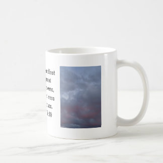 Pink and Gray Cloud Photo before Storm Coffee Mug