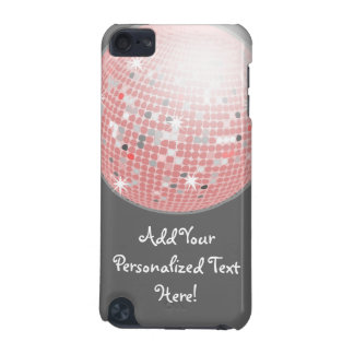 Pink and Gray Disco Ball Custom iPod Touch iPod Touch (5th Generation) Case