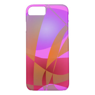Pink and Gray iPhone 8/7 Case