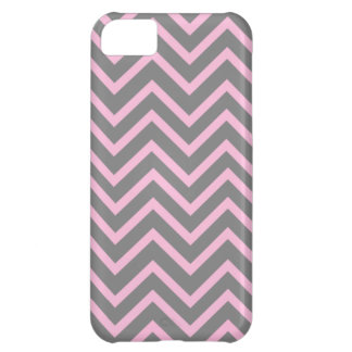 Pink and Gray patterns Cover For iPhone 5C