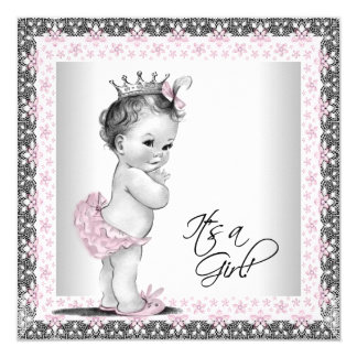 girl baby shower invitations announcements zazzle
