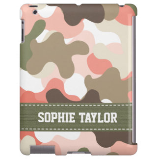 Pink and Green Camouflage Camo
