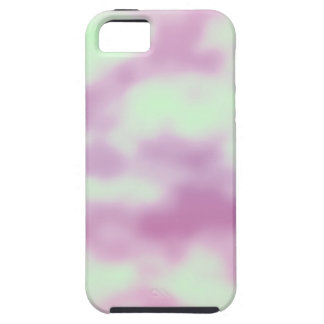 Pink and Green Cotton Candy iPhone 5 Case