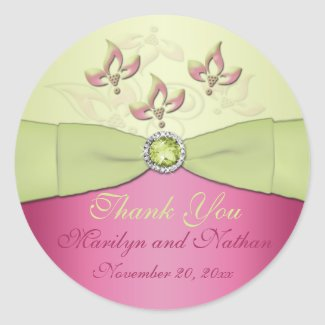 Pink and Green Floral 3