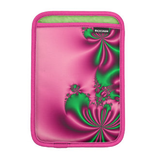Pink and Green Flow Sleeve For iPad Mini