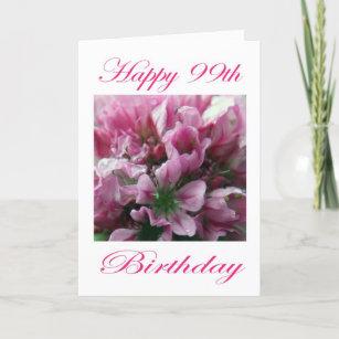 99th Birthday Cards Zazzle