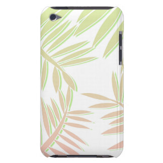 Pink and Green Gradient Palm Tree Leaves iPod Case-Mate Case