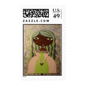 """Pink and Green I"" 49 Cent Denomination Stamps! Postage"