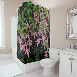 pink and green shower curtains zazzle