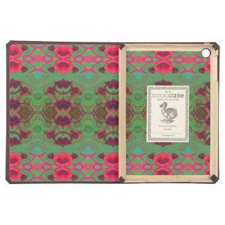 Pink and green marble case for iPad air