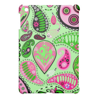 Pink and Green Paisley iPad Speck Case iPad Mini Cases