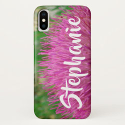 Pink and Green Personalized iPhone XS, XS Max, XR iPhone XS Case