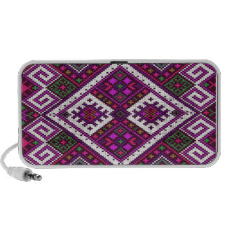 Pink and green Pixel pattern..a spring MUST have! Mp3 Speaker