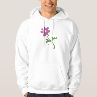 Pink and Green Poetica Flower Sweatshirt