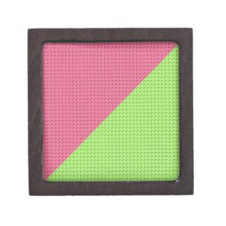 Pink and Green Premium Keepsake Boxes
