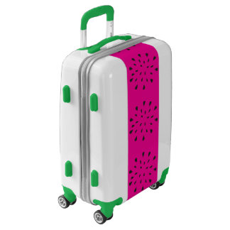 Pink and Green Watermelon Luggage