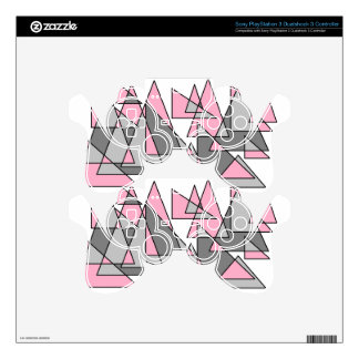 pink and grey triangles.jpg decal for PS3 controller