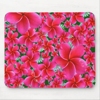 Pink and Intense Flowers, Wife Birthday Mouse Pad