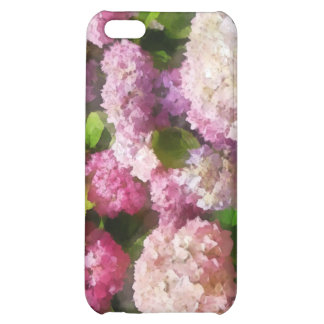 Pink And Lavender Hydrangea iPhone 5C Cover