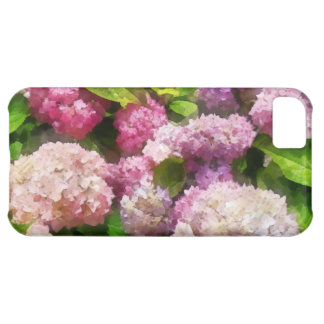 Pink And Lavender Hydrangea iPhone 5C Covers