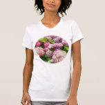 Pink And Lavender Hydrangea Shirts
