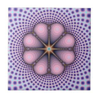 Pink and Lavender Octet tile