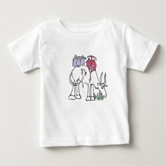 Pink and Lavender Pterodactyls T-shirt