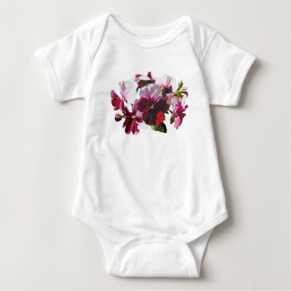Pink and Magenta Pansies Infants T-shirt