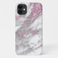 Pink and Marble Iphone Case