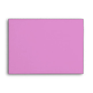 Pink and Maroon Wedding Envelope