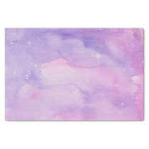 Pink and Mauve Galaxy Tissue Paper