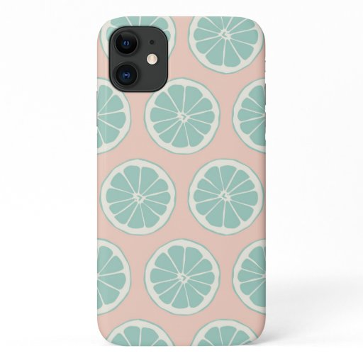 Pink and Mint Citrus Phone Case