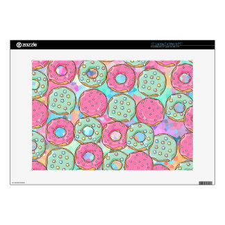PINK AND MINT COOKIES DONUT SPRINKLE CRUSH LAPTOP SKIN
